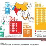 Grafik Tabakanbau und Unterernährung
