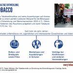 Grafik Unfairtobacco, SDG-Factsheet Tabak | Bildung