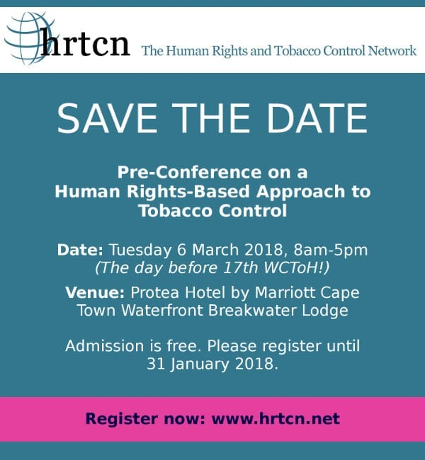 Human rights & tobacco control conference