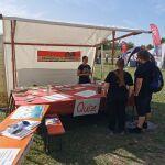 Unfairtobacco auf dem Potsdamer Umweltfest
